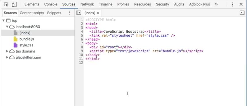 Localhost index.html