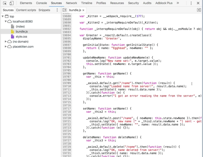 Lots of code