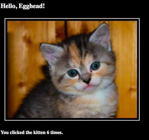 Cat incrementer