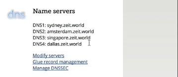 DNS Name Servers