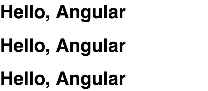 Three templates