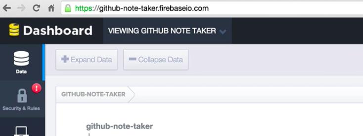 Firebase URL