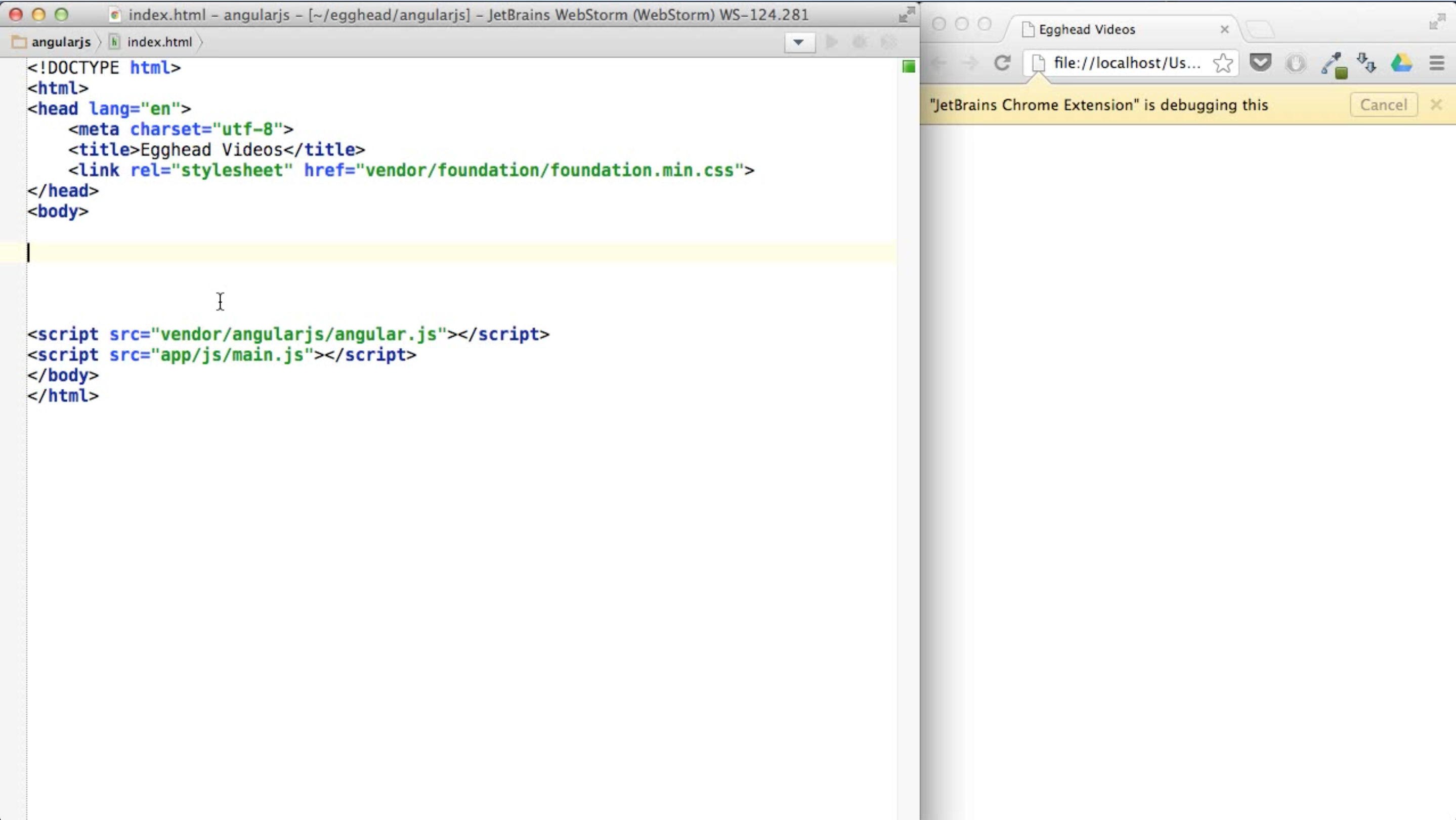 New to AngularJS 1 x? Start learning here