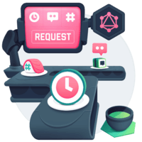 illustration for React Real-Time Messaging with GraphQL using urql and OneGraph