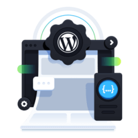 illustration for WordPress as a Headless Content Management System (CMS) and GraphQL API