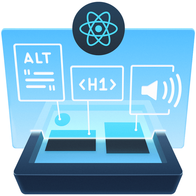 illustration for Develop Accessible Web Apps with React