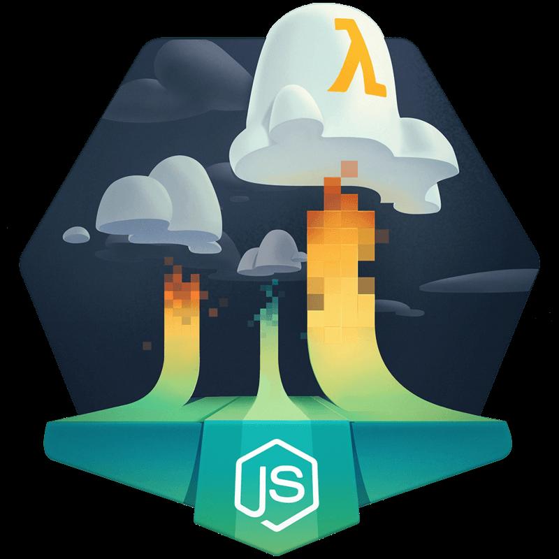 illustration for Develop a Serverless Backend using Node.js on AWS Lambda