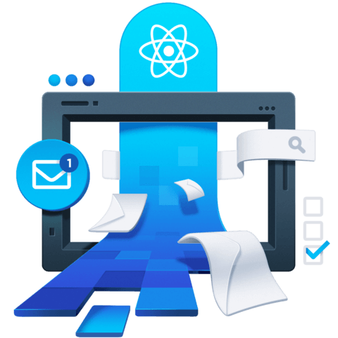 illustration for React Context for State Management