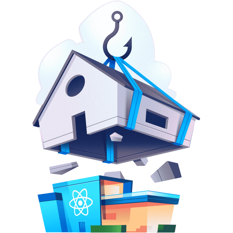 illustration for Simplify React Apps with React Hooks