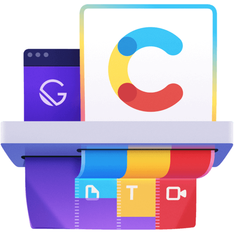 illustration for Build Content Rich Progressive Web Apps with Gatsby and Contentful