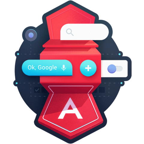 illustration for Structure Angular Apps with Angular Material Components