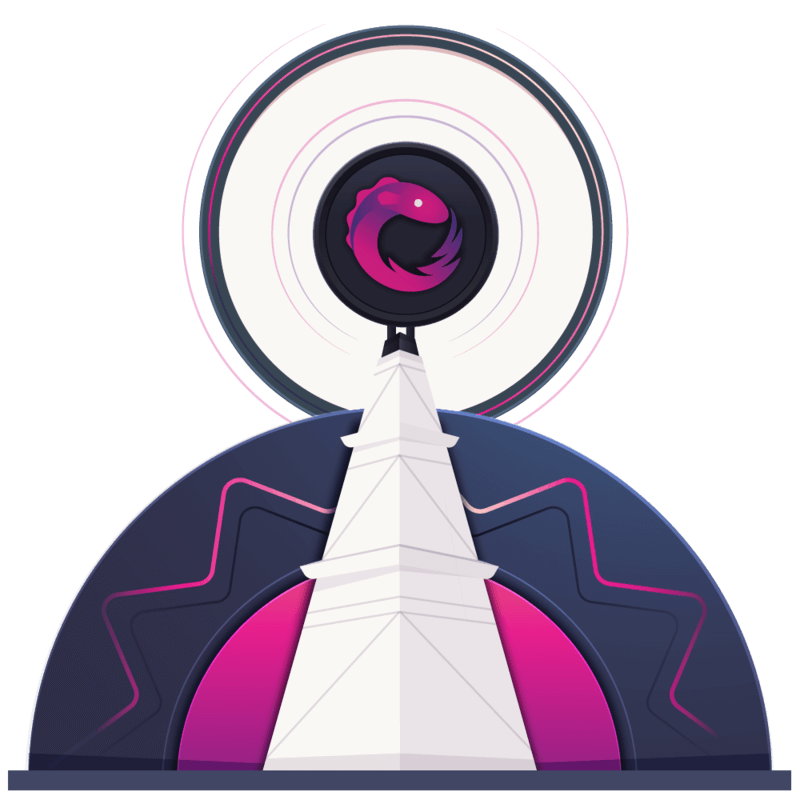 illustration for RxJS Subjects and Multicasting Operators