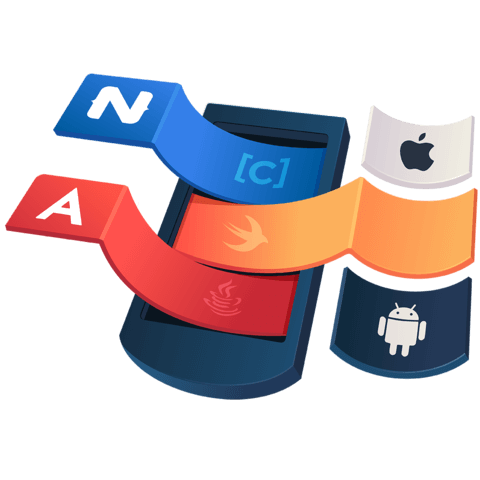 illustration for Use Objective C, Swift and Java api's in NativeScript for Angular iOS and Android apps