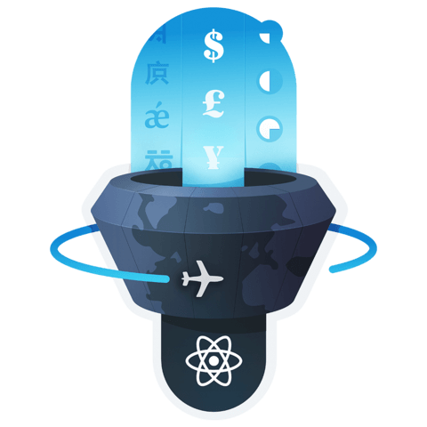 illustration for Add Internationalization (i18n) to a React app using React Intl