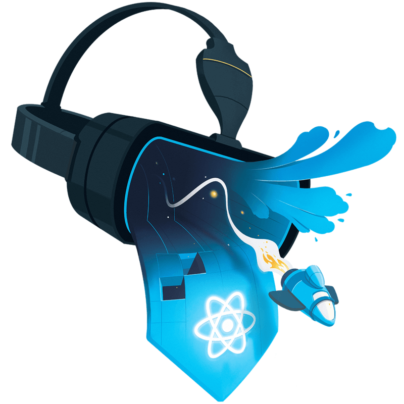illustration for Build Virtual Reality Experiences Using React VR