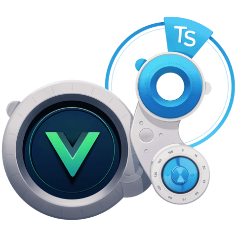 illustration for Use TypeScript to Develop Vue.js Web Applications
