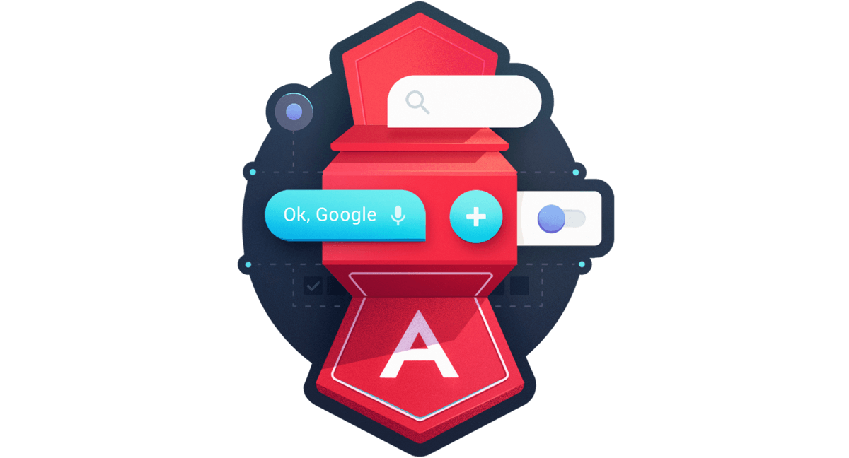 Utilize Material Design Icons for App Icons and Buttons from