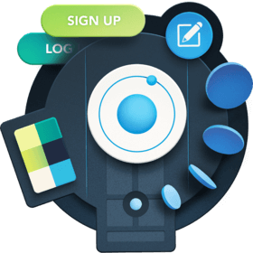 illustration for Style and Theme Ionic Applications