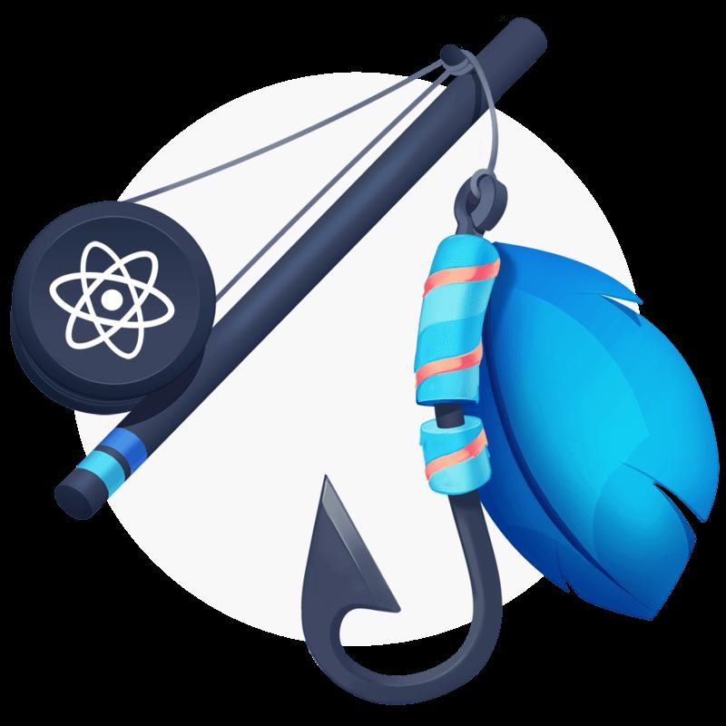 illustration for Shareable Custom Hooks in React