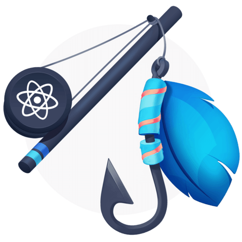 illustration for Shareable Custom Hooks in React