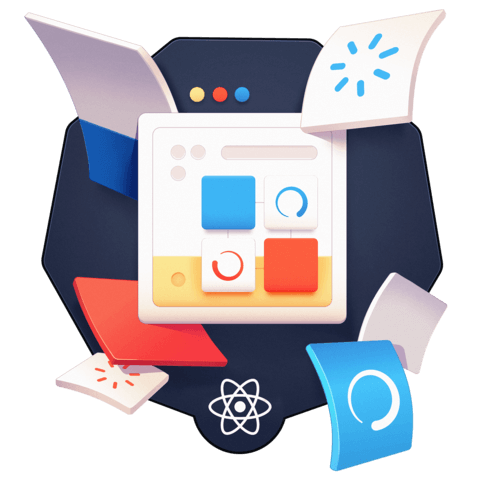 illustration for Build an App with React Suspense